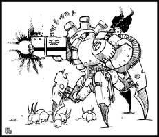 Strogg Heavygunner by Rafta