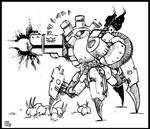 Strogg Heavygunner