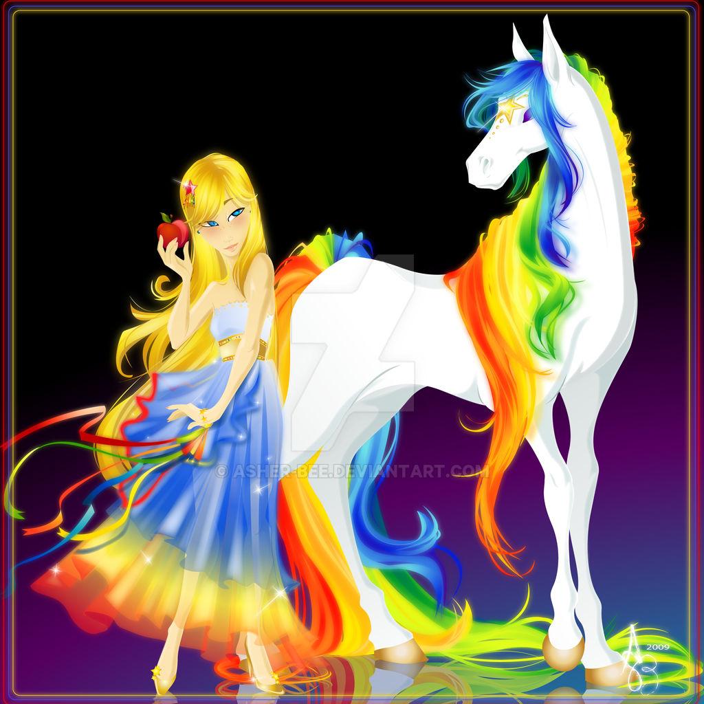 :Rainbows and Stars: