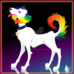:Rainbow Puppy: