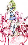 Malice Alice and friends sket