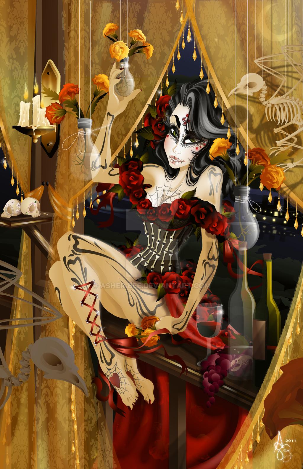 :La Belleza de la Muerte: by Asher-Bee