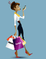The Snobby Shopper Flash Hmwrk by Asher-Bee