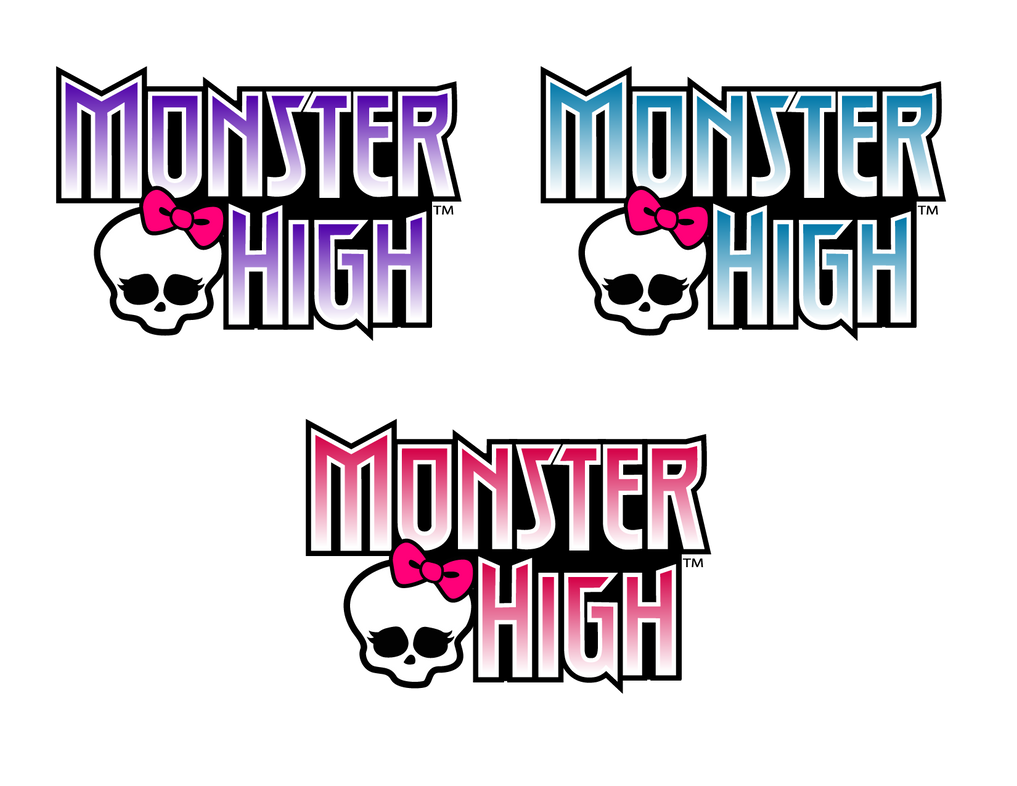 mock monster high logo vector practice by asher bee on deviantart