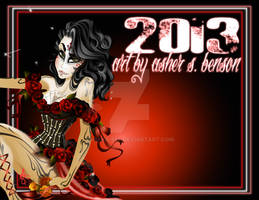 2013 Color Calendar by Asher-Bee