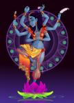 Black Light Goddess