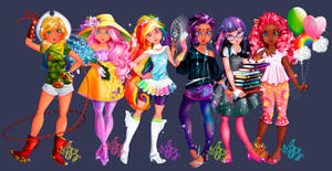 MY Completed Little Pony Project