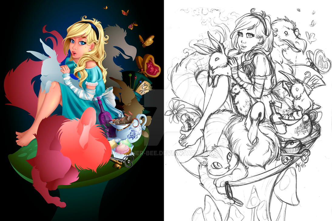 How Long is Forever...in progress by Asher-Bee