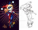 Super Cuties: Harley Quinn Charm