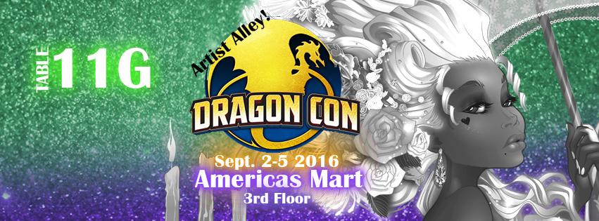 Dragon Con 2016 Artist Alley by Asher-Bee