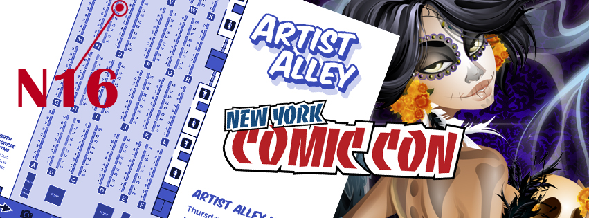 New York Comic Con 2016 Artist Alley by Asher-Bee