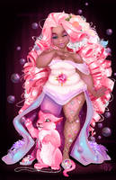 Rose Quartz by Asher-Bee