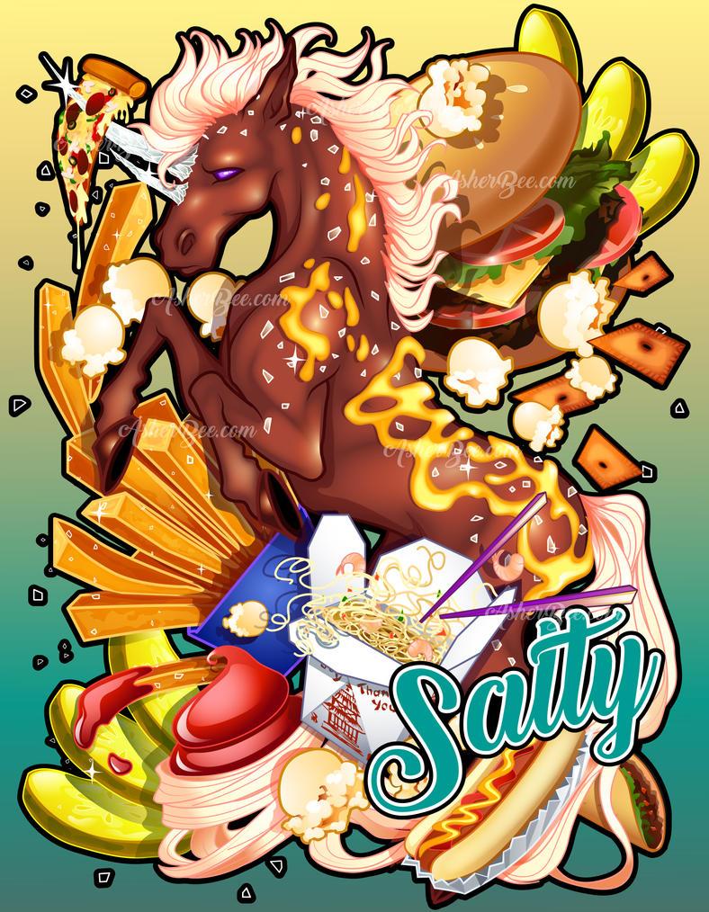 Salty Rudicorn by Asher-Bee