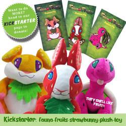Kickstarter Fauna Fruits by Asher-Bee