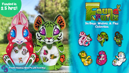 Fauna Fruits Ita Bag Kickstarter is LIVE!