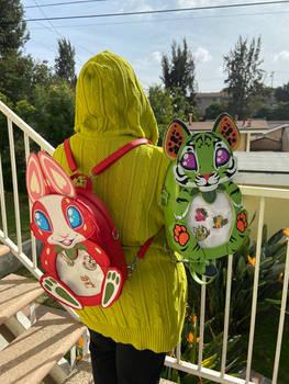 Strawbunny and Papayger Ita Bags