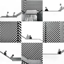 Stairs and stripes