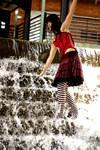 bliss -- fountain walk