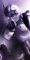 Starcraft 2 Ghost by Shabow