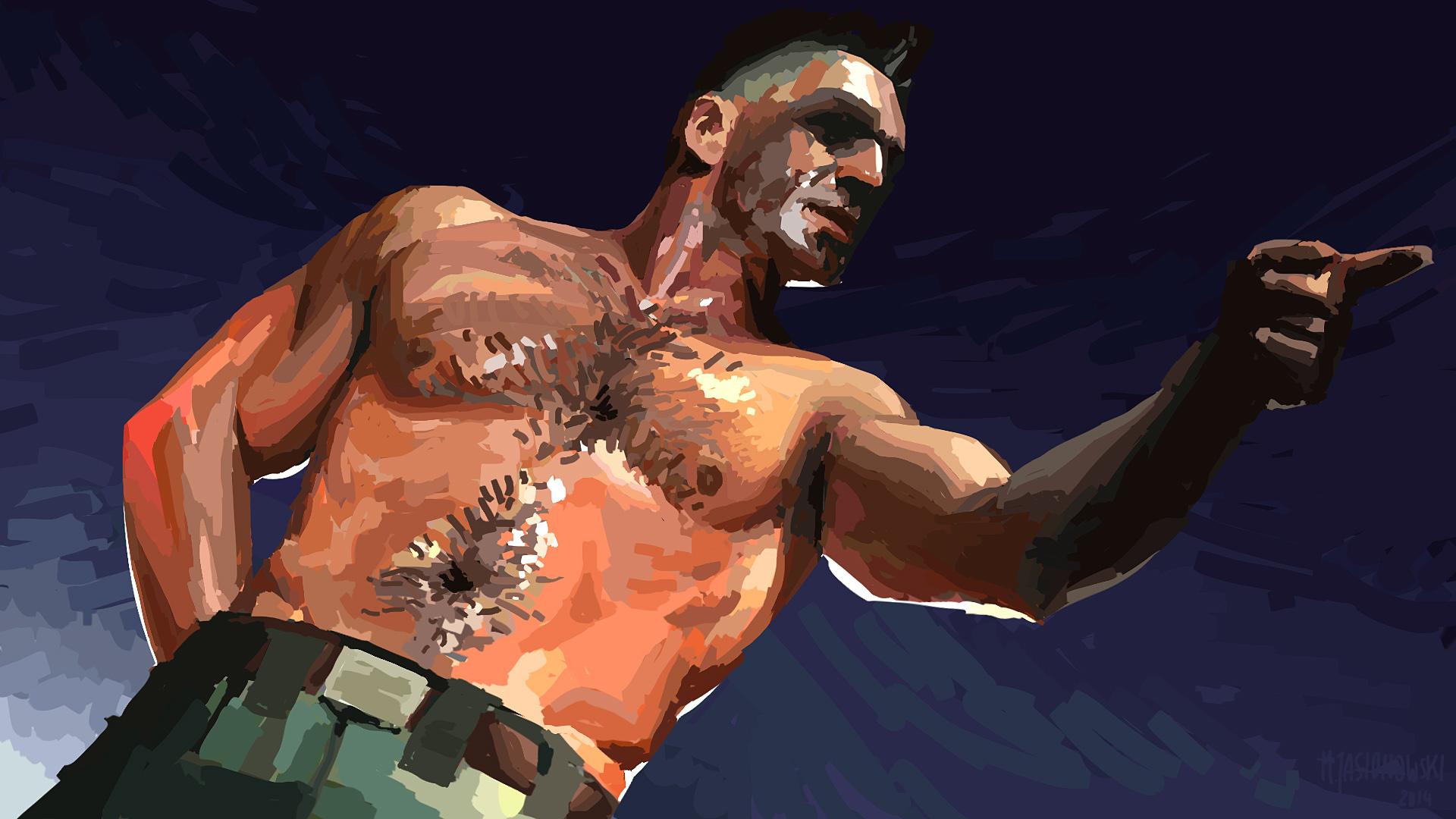 Till Lindemann - Rammstein Painting