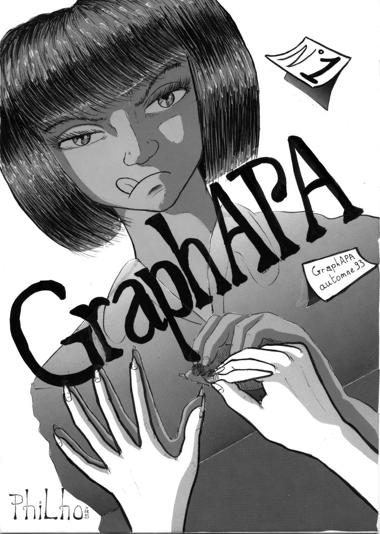 GraphAPA cover v.1 by philho