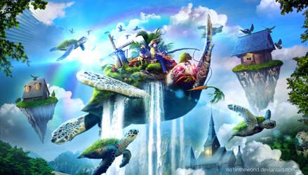 Fly Like A Bird by no1intheworld