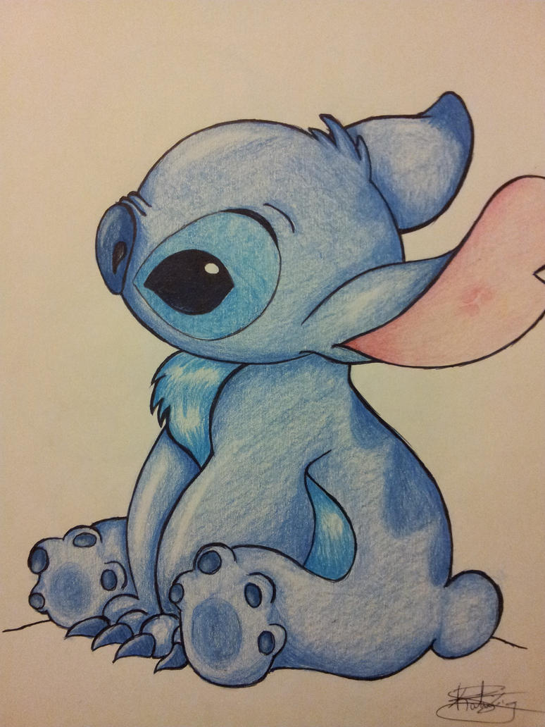 Stitch by Eitak9948