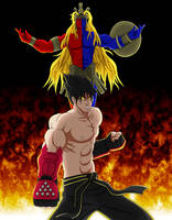 Ogre-Gill and Jin Kazama by Shouhda