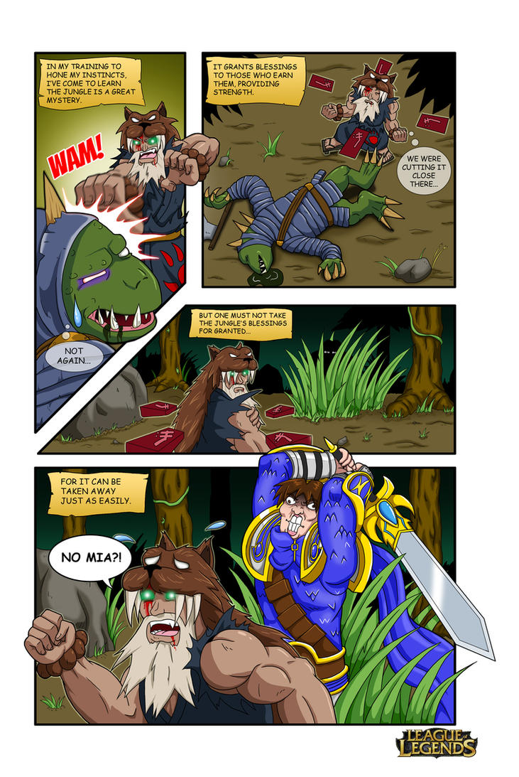 League of Legends Comic Contest Entry by Shouhda