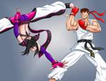 Juri vs Ryu