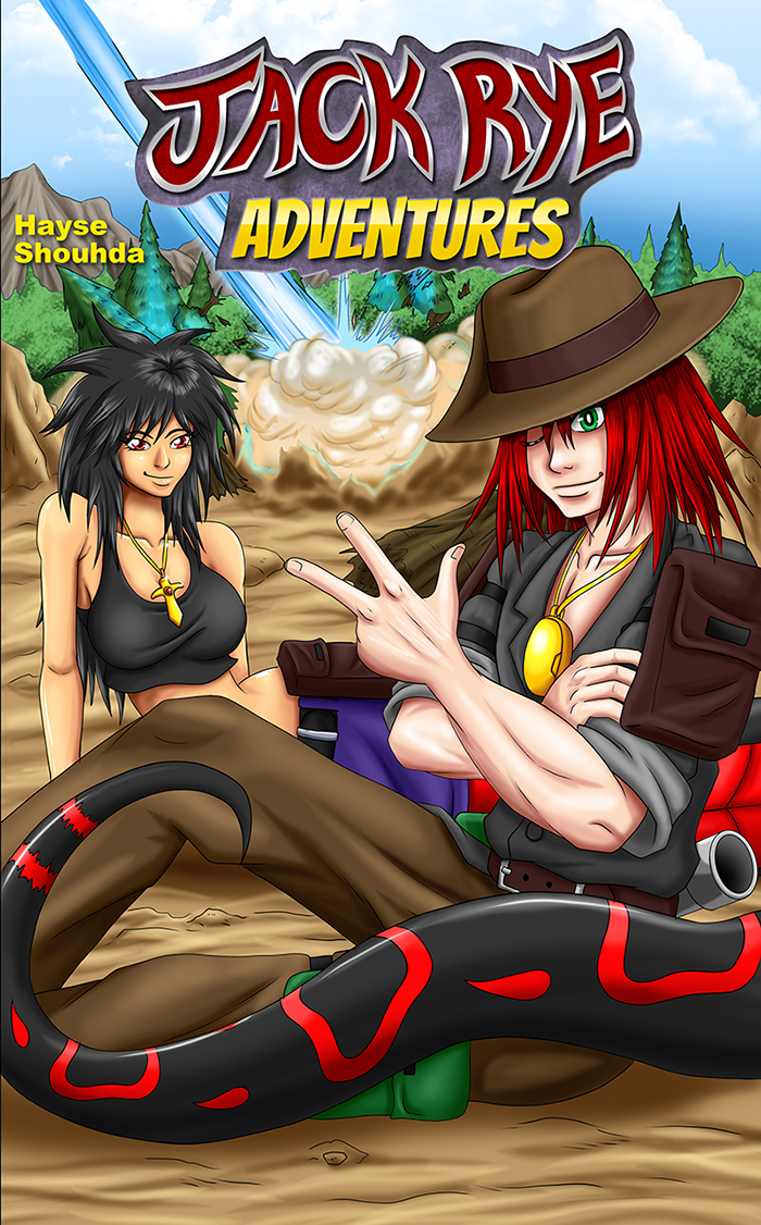Jack Rye Aventures Promo Cover by Shouhda