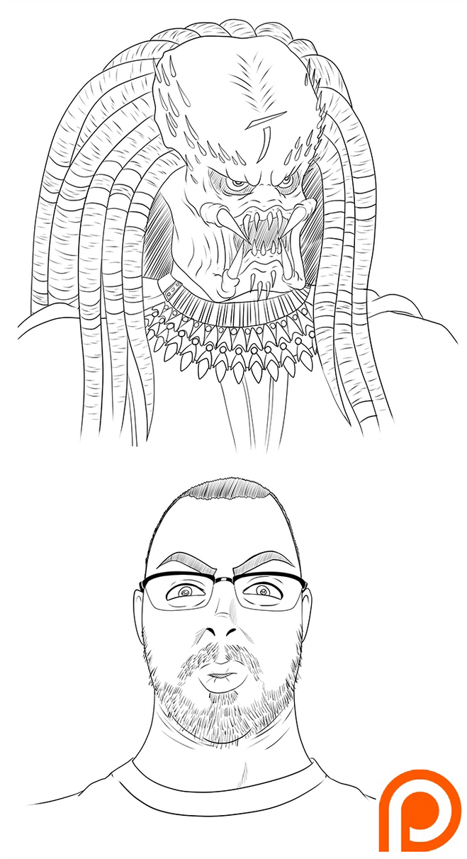 May Patron Sketches by Shouhda