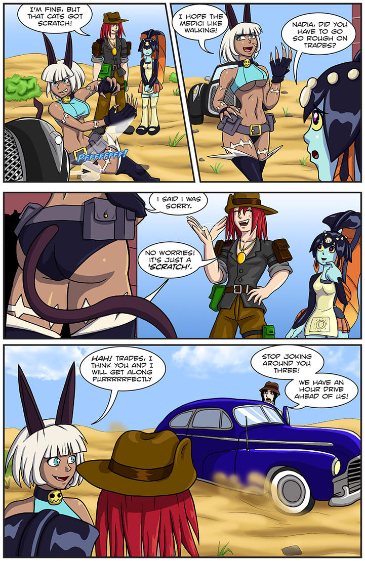 SkullGirls: Trades page 25 by Shouhda