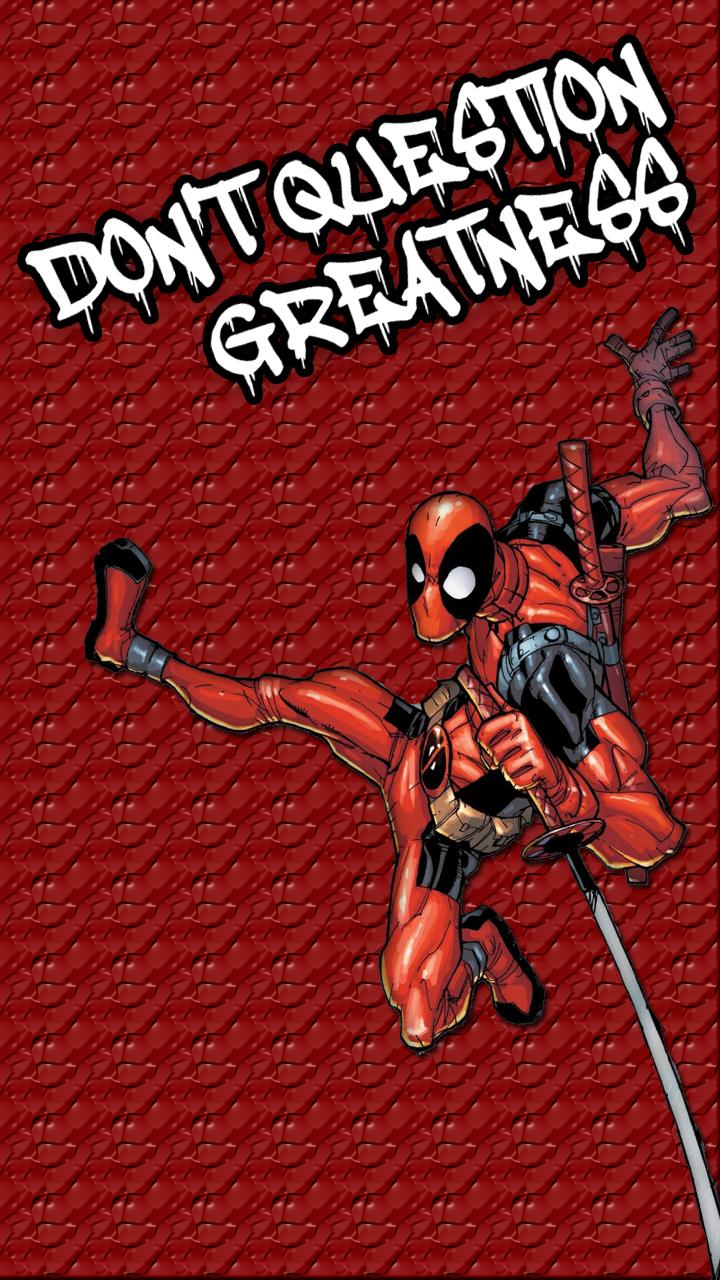 Deadpool Wallpaper Mobile By Thanossonic On Deviantart
