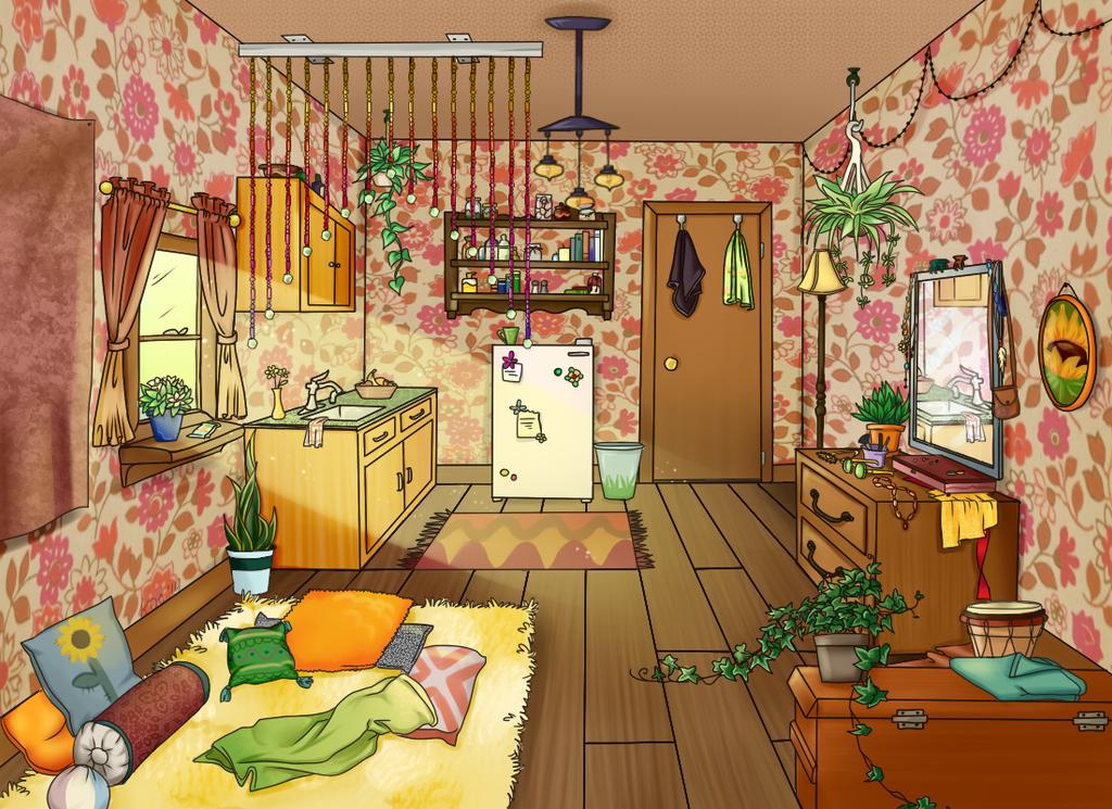 Rosmond's  Home by k00k3y