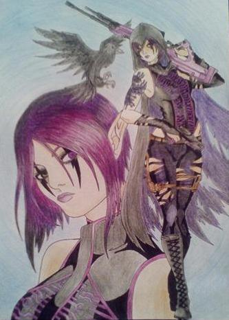 Major Raven by HederaAnima