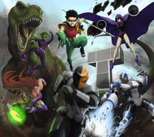 Teen Titans by RadecMai