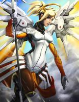 Mercy - Overwatch by RadecMai
