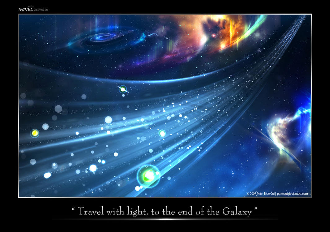 Travel ART Series - universe by petercui