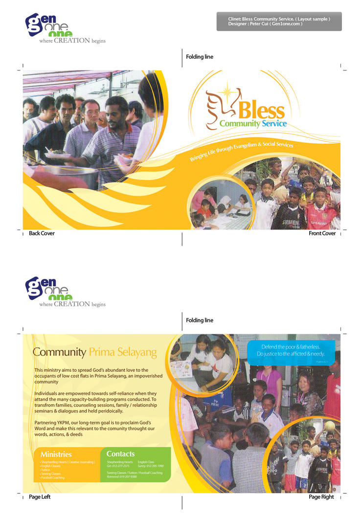 BCS Booklet Layout Sample by petercui