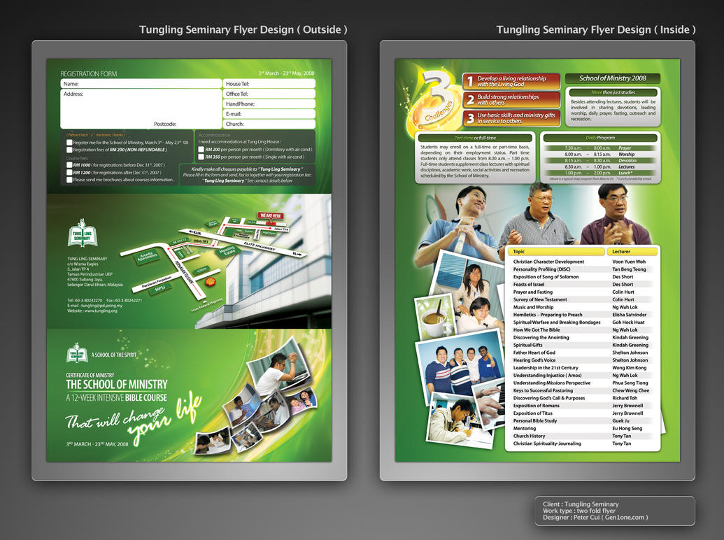 Tungling Flyer Design 1 by petercui