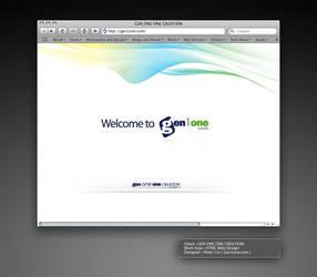 GEN ONE ONE CREATION webDesign