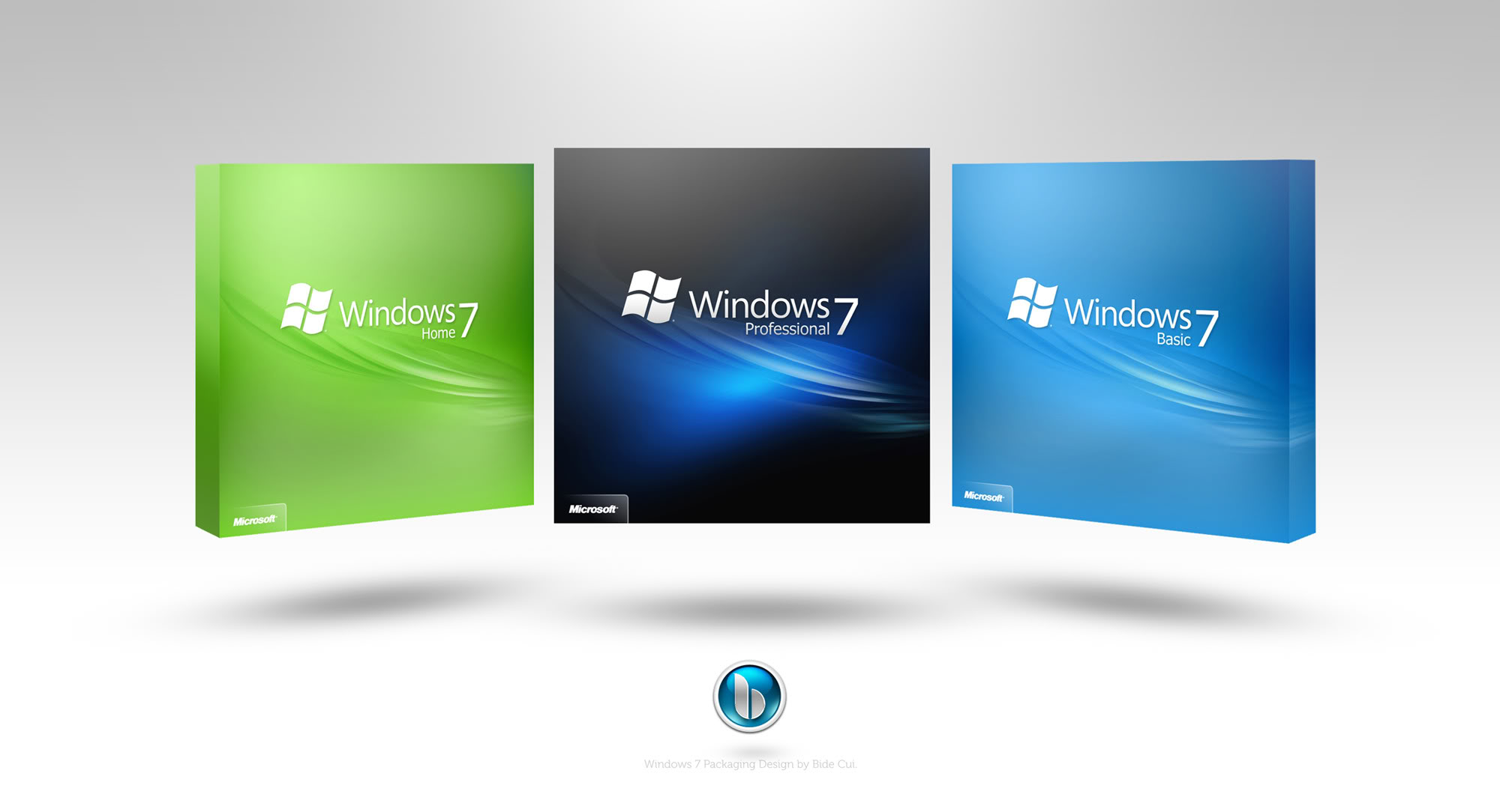 Windows 7 Smaller Packaging by petercui