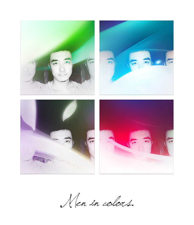 Men in Colors by petercui