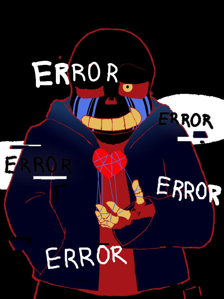 ERROR!sans by IceHeishiou