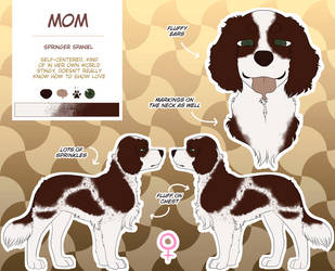 Mom Reference Sheet | RE:me by IceHeishiou