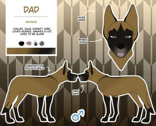 Dad Reference Sheet | RE:me by IceHeishiou
