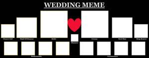 Wedding Meme - Blank
