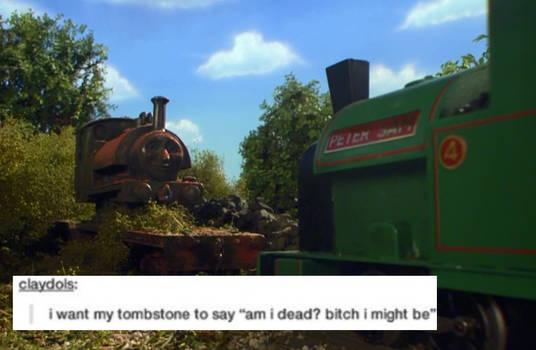 TTTE Tumblr Text Meme - Proteus' Tombstone