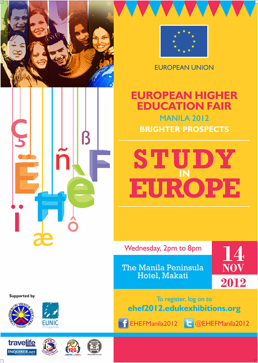 Study In Europe Poster By Roshipotoshi